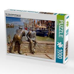 Der Hafen Neuharlingersiel Lege-Größe 64 x 48 cm Foto-Puzzle Bild von Peter Roder Puzzle