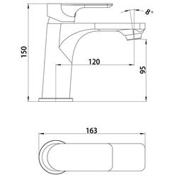 CORNAT Waschtischarmatur DESIGN Wasserhahn