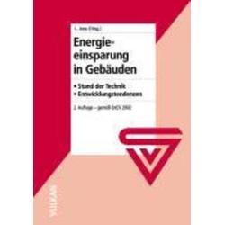 Energieeinsparung in Gebäuden als Buch von