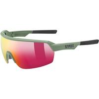 Uvex Sportstyle 227 Brille oliv/rot 2021 Brillen