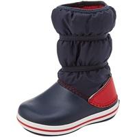 Crocs Winter Boot Kids Schneestiefel, Marine/Rot, 28