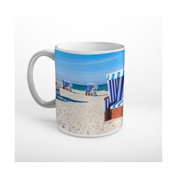 DesFoli Tasse Sylt Strandkorb T1358, Keramik
