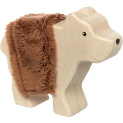 Sigikid Spielfigur Cudly Wudly Holztier Bär, FSC®-Holz aus gewissenhaft bewirtschafteten Wäldern; Made in Europe
