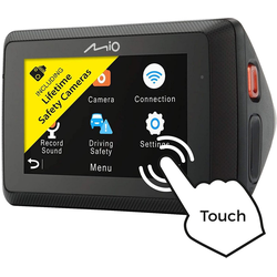 Mio Dashcam, 6,9 cm (2,7 zoll) Bildschirm Dashcam (Full HD, MiVue 786 WIFI)
