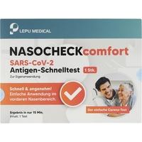 Lepu Medical SARS-CoV-2 Antigen-Schnelltest Nasocheck Comfort 1 St.