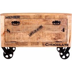 SIT Schuhschrank im factory design, Breite 85 cm, Shabby Chic, Vintage