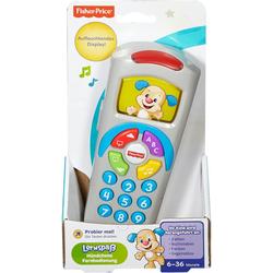Mattel - Fisher-Price Lernspaß Fernbedienung Lernspielzeug Baby Spielzeug Fernbedienung