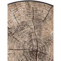 Fußmatte Baumscheibe, waschbar braun