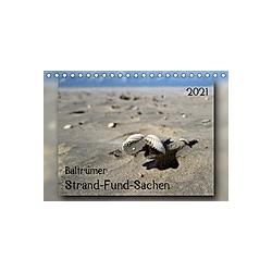 Baltrumer Strand-Fund-Sachen (Tischkalender 2021 DIN A5 quer)