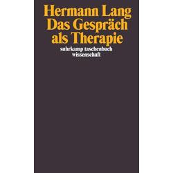 Das Gespräch als Therapie