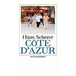 Cote d' Azur. Hans Scherer  - Buch