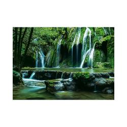 HEYE Puzzle Puzzle 1000 Teile - Magic Forests, Cascades, Puzzleteile