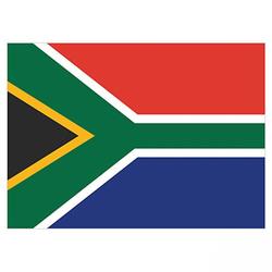 Flagge Südafrika 90x150cm mit Befestigungsösen