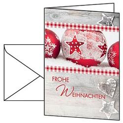 25 SIGEL Weihnachtskarten Winter Feeling DIN A6