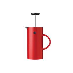 Stelton Kaffeebereiter Kaffeezubereiter 1L rot