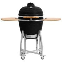 "BBQ-Toro Kamado Grill Holzkohlegrill ""KURO"" Ø 52 cm schwarz Keramikgrill"