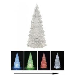 Weihnachtsbaum mit Farbwechsel - LED Beleuchtung - 22 cm