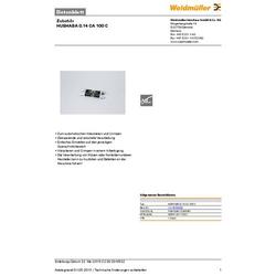 Weidmüller HUEHABA 0.14 CA 100 C 1314530000 Abisoliermesser-Ersatzmesser