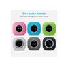 Medion Medion® MEDION Duschradio mit Bluetooth (Badradio, UKW Radio, Saugnapf, LED-Display, IPX6 Wasserdicht, integrierter Akku) UKW-Radio (UKW) schwarz