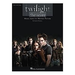 Twilight - The Score  Easy Piano solo. Carter Burwell  - Buch