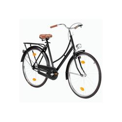 KIKAKO Hollandrad 28 Zoll Hollandrad Damen Outdoor-Fahrrad