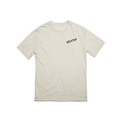 Tshirt BRIXTON - Adios Off White (OFFWH)
