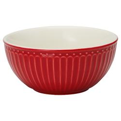 Greengate Alice Frühstücksschüssel Rot