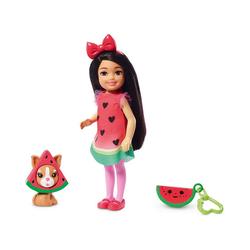 Mattel® Anziehpuppe Barbie Chelsea Wassermelonen-Kostüm Puppe