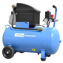 Güde Kolbenkompressor Kompressor-Set 301/10/50 12-tlg. mit 50 Liter Kessel