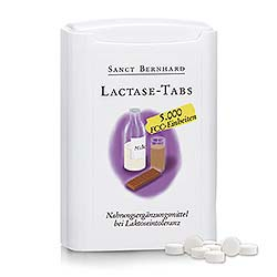 Lactase-Tabs 5.000 FCC-Einheiten