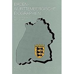 Baden-Württembergische Biographien I - Buch