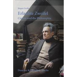 Erlaubte Zweifel: Buch von Jürgen Große