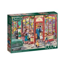 Falcon Puzzle Falcon 11284 The Toy Shop 1000 Teile Puzzle, 1000 Puzzleteile bunt