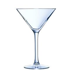 Chef & Sommelier Cocktailglas Cabernet, Cocktailglas Cocktailschale 210ml Krysta Kristallglas transparent 6 Stück Ø 11.7 cm x 17.5 cm