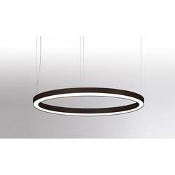 Molto Luce Rinq LED-Ringlampe Ø 120cm Schwarz DALI dimmbar
