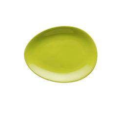 Colani Teller Luigi Colani Teller / ab ovo, (1 Stück) grün
