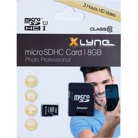 Xlyne microSDHC 8GB Class 10 + SD-Adapter