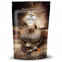 OSSO Kaffeebereiter 200gr Osso Ottoman Dibek Coffee Jemen Kaffee Osmanli Kahvesi Türkischer Kaffee Fein Gemahlener Kaffee Yemen kahvesi