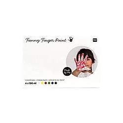 Fingerfarben-Set 6 x 100 ml