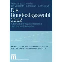Die Bundestagswahl 2002 als Buch von