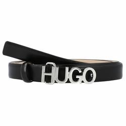 Hugo Zula Gürtel Leder black 80 cm
