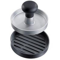 Westmark Uno Hamburger-Presse Aluminium, Schwarz Acrylnitril-Butadien-Styrol (ABS), Aluminium, Thermoplastisches Elastomer (TPE)