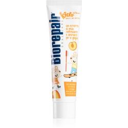 Biorepair Junior Zahnpasta für Kinder Geschmack Peach 50 ml