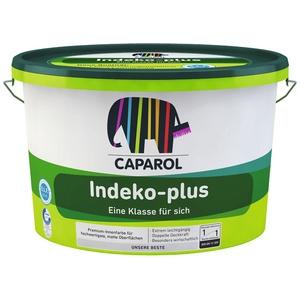 Caparol Indeko Plus Weiss Innenfarbe Wandfarbe - Premium - 3 X 12,5 Liter