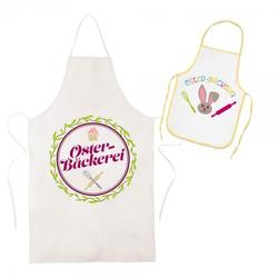 "Oster SET 1 ""Oster-Bäckerei"" (Kinderschürze & Schürze für Erwachsene)"