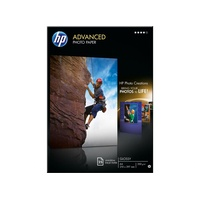 HP Advanced Glossy Photo Paper 25 Blatt für OfficeJet Pro, DeskJet (Q5456A)