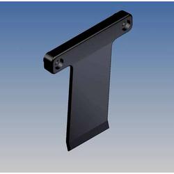 TEKO Montagematerial ABS Schwarz (L x B x H) 66.3 x 58.46 x 8.2mm 1St.
