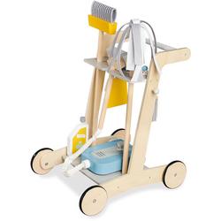 Pinolino® Kinder-Putzwagen Pia, (7-tlg), aus Holz