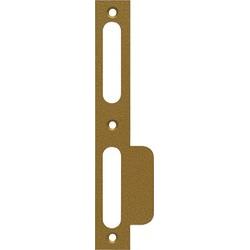 ABUS Schließblech SSK R  HG SB links hammerschlag gold