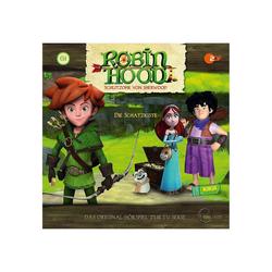 Edel Hörspiel CD Robin Hood 01 - Die Schatzkiste